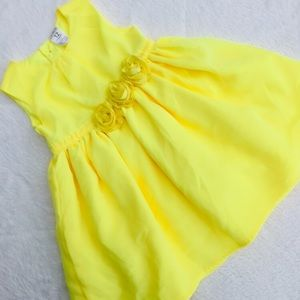 Carters Baby Girl Yellow Dress